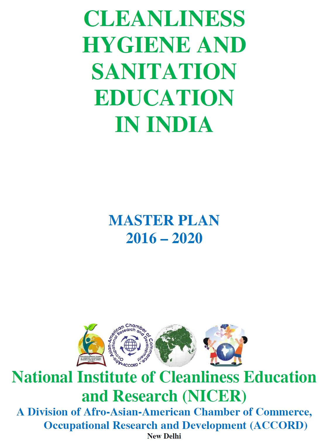 NATIONAL INSTITUTE OF CLEANLINESS EDUCATION AND RESEARCH NICER